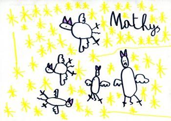 Dessin de Mathys