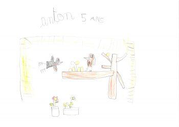 Dessin de Anton