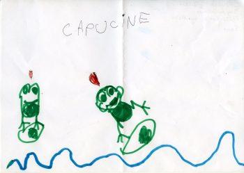 Dessin de Capucine