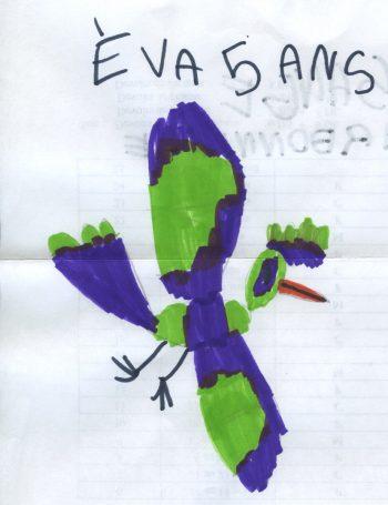 Dessin de Eva