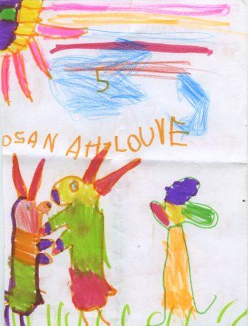 Dessin de Osanah-Louve