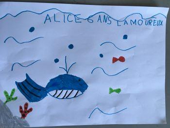Dessin de Alice