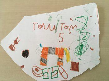 Dessin de Tom