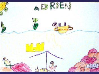 Dessin de Adrien et Quentin
