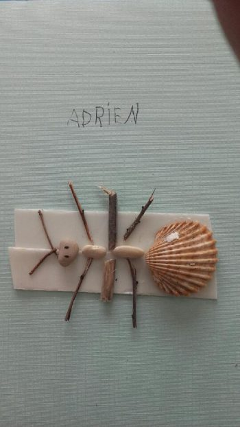 Dessin de Adrien