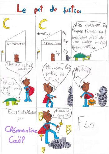Dessin de Clémentine