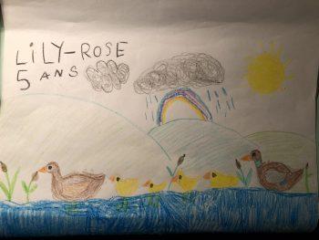 Dessin de Lily-Rose