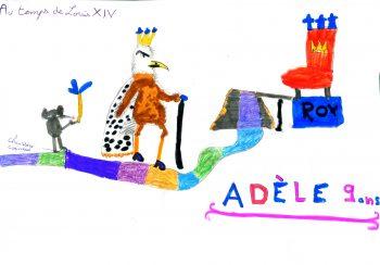 Dessin de Adèle
