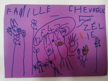 Dessin de Zélie
