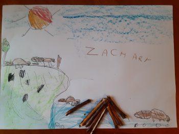 Dessin de Zachary