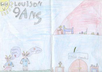 Dessin de Louison