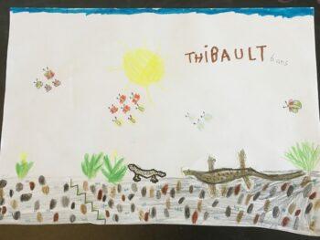 Dessin de Thibault
