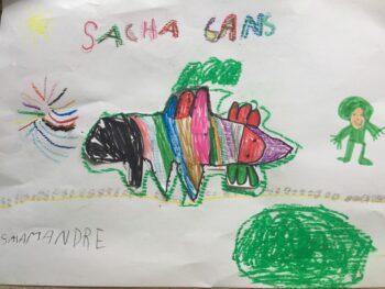 Dessin de Sacha